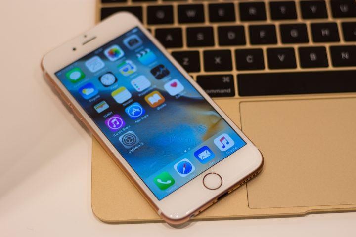 Apple iphone och macbook