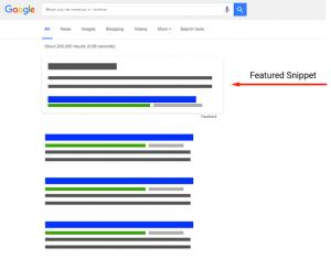 Utvalt utdrag Google